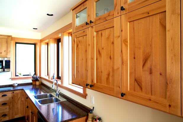 Country Kitchen Windows