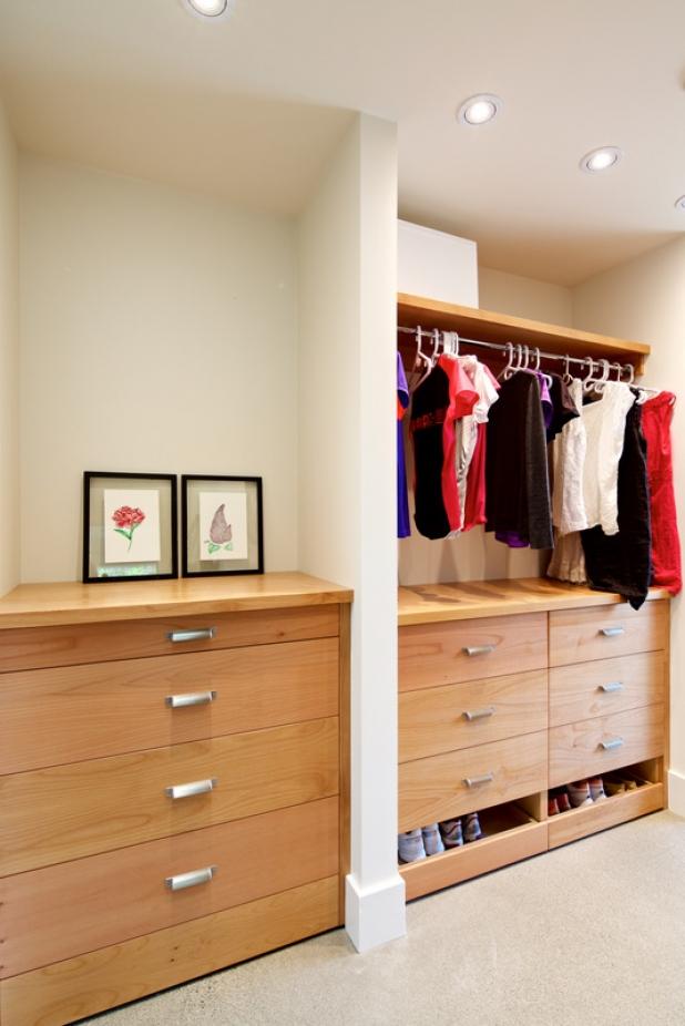 Custom Alder Closet