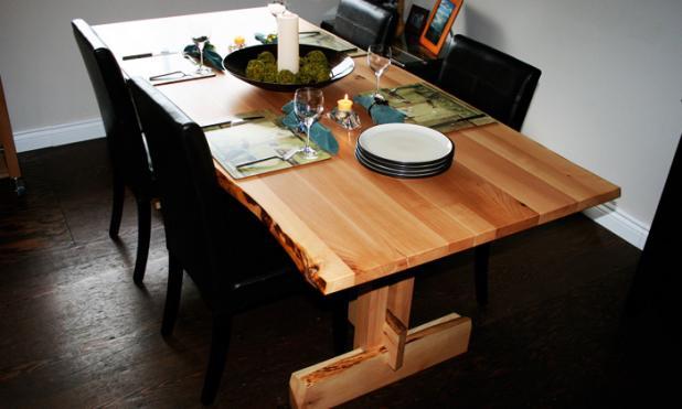 Arbutus Timber Table