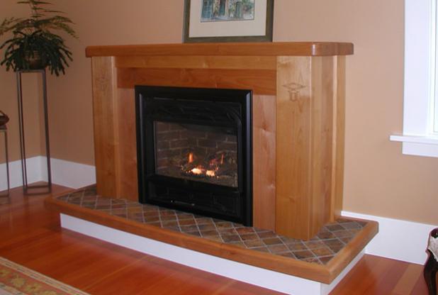 Lake Cowichan Fireplace