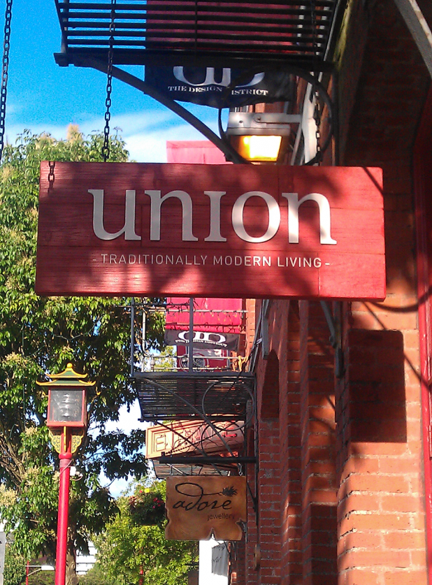 The Union Building Sign