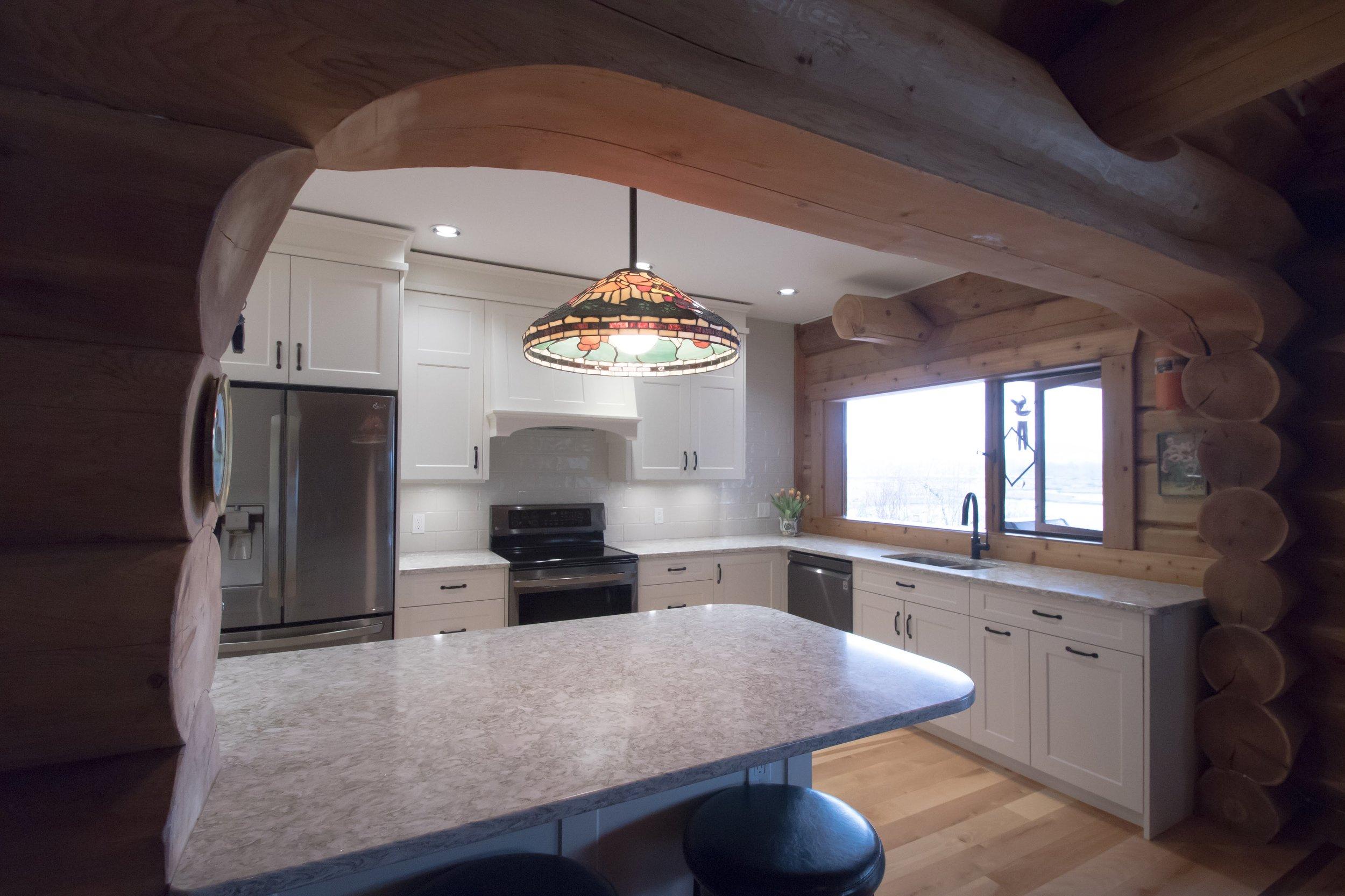 Cowichan Bay Log Home Gem