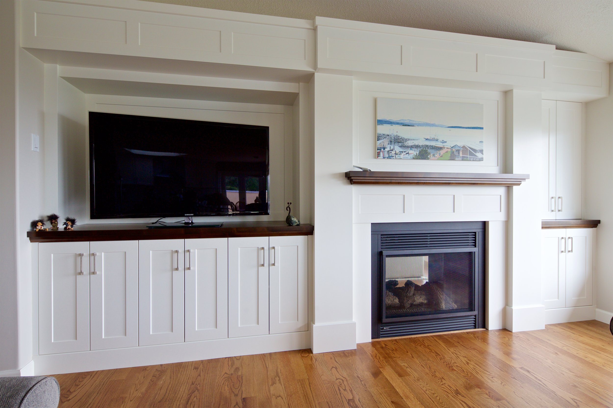NORTH SAANICH FIREPLACE BUILT-IN