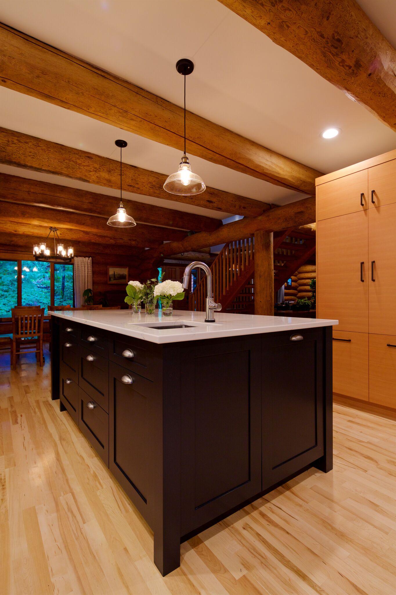 Contemporary Log House
