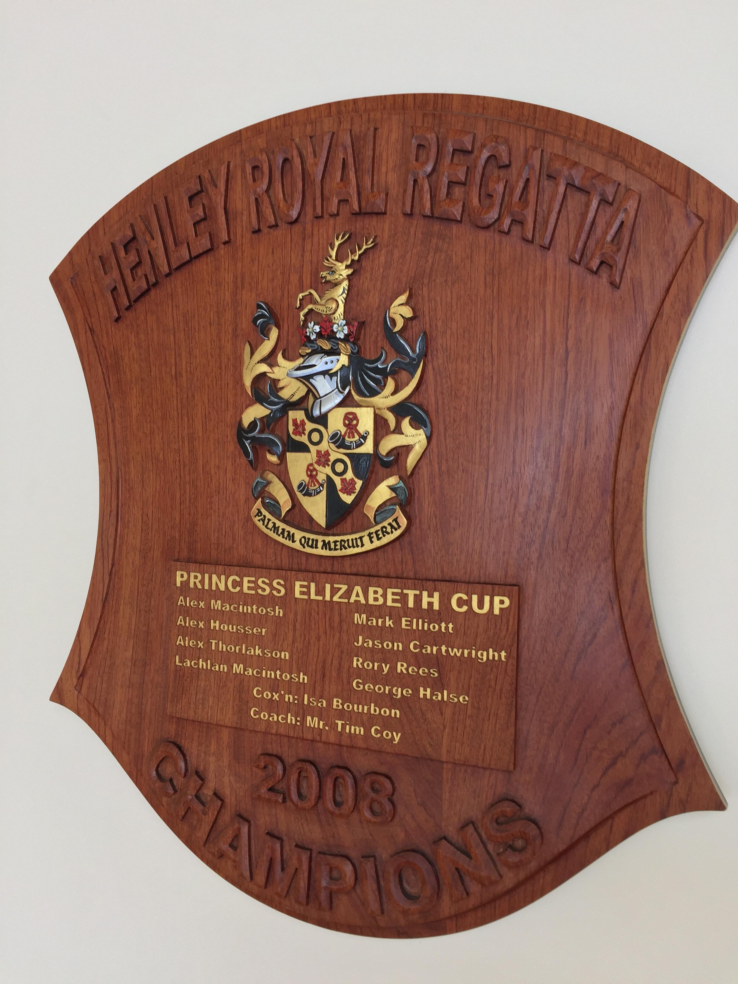 Princess Elizabeth Cup