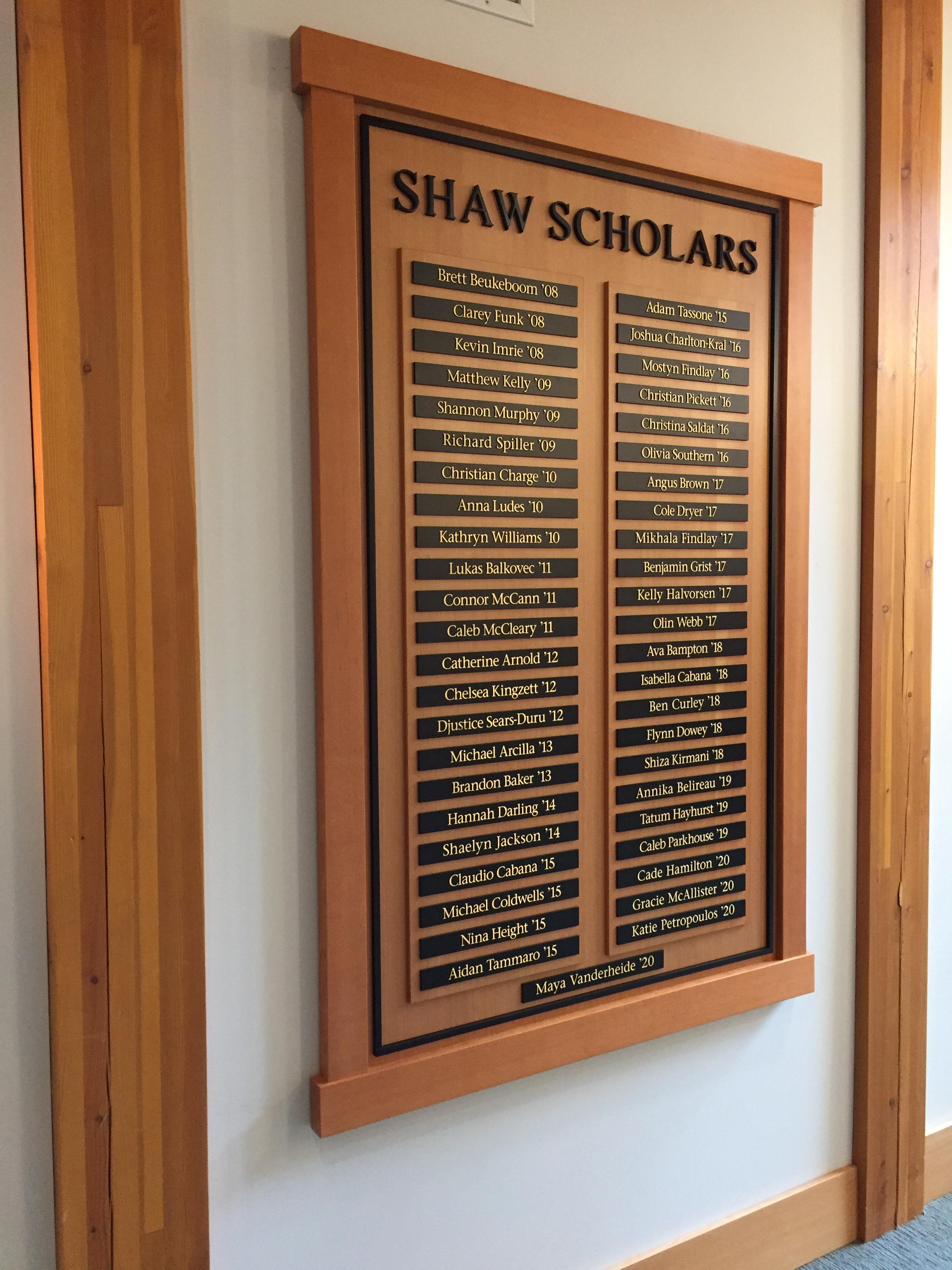 SHAW Scholars.jpeg