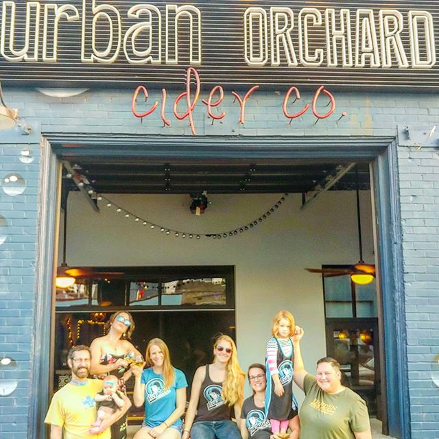 Mashville Challenge is only 2 weeks away! So the bar bouncing babes & babies of Blue Ridge made it to @urbanorchardsouthslope to check out one of the #mashvillechallenge competitors! . June 8 at the @uscellularcenterasheville . Link in bio.