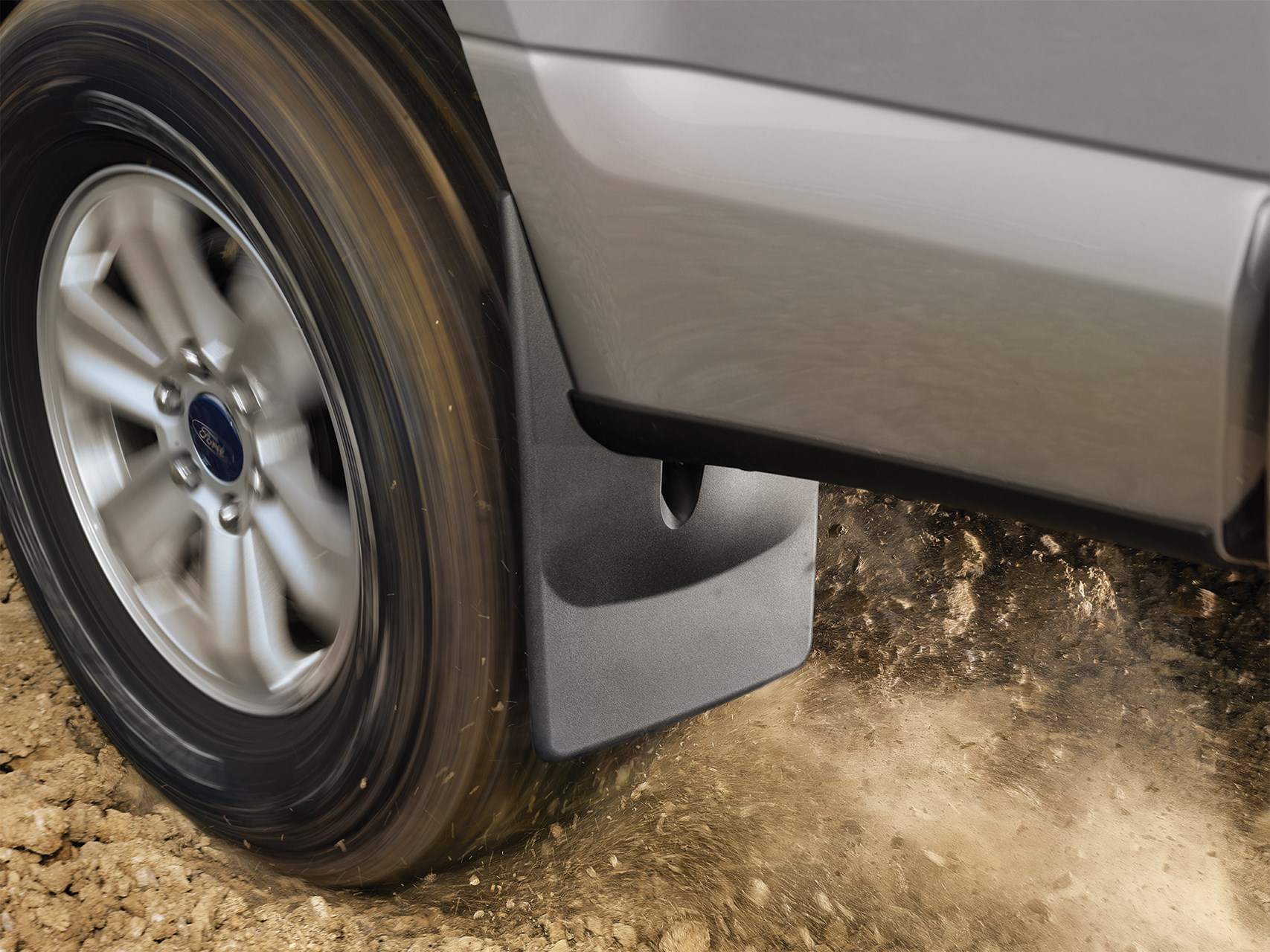 NO-DRILL MUD GUARDS - No drill application, uses existing holes in your fender wells. Custom fit for a nice finish.