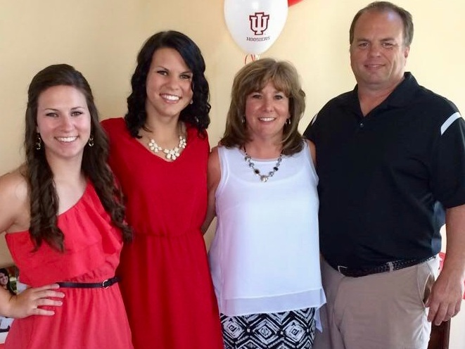 Bob & Alison with their daughters,Arden & Kelsey. - Westfield is our home.