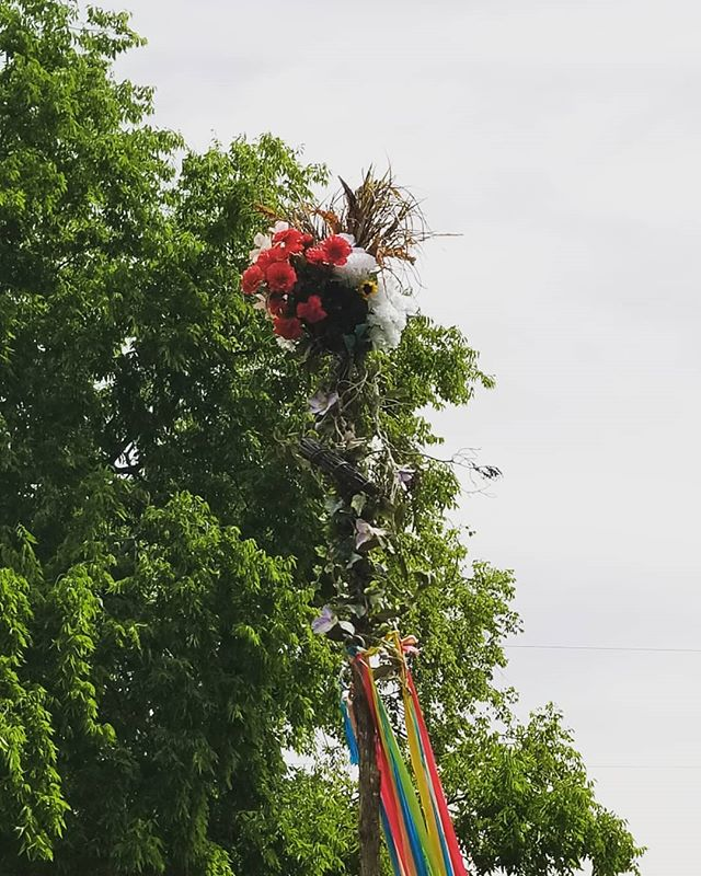 Its maypole time!