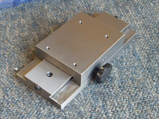 "4"" Slide with Mounting Holes, End Stop and Locking Knob"