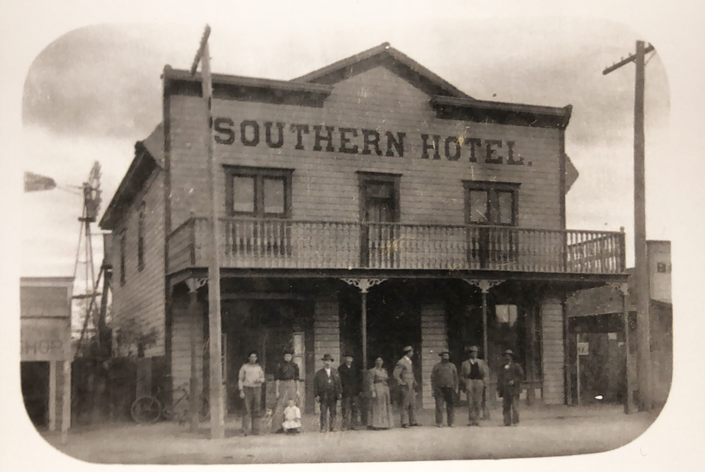 The historic Southern Hotel