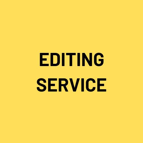 Editing service image
