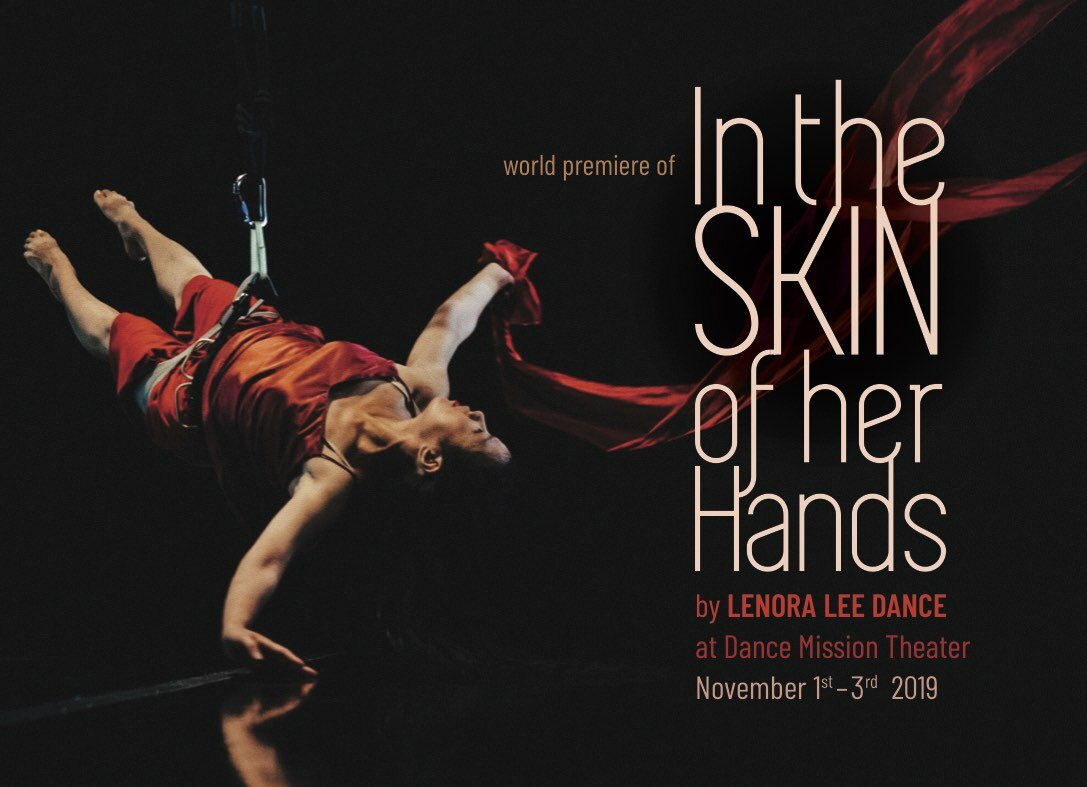 In the Skin of Her Hands by Lenora Lee Dance (temporary image)  photo by Robbie Sweeny