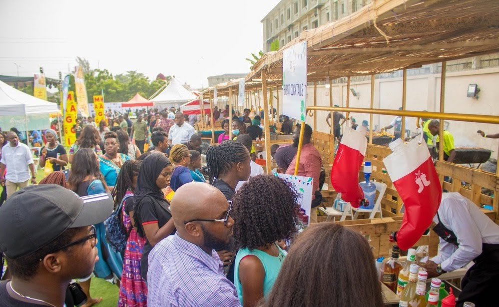 Lagos' leading food festival uses our Cashless System, here's why you should too -