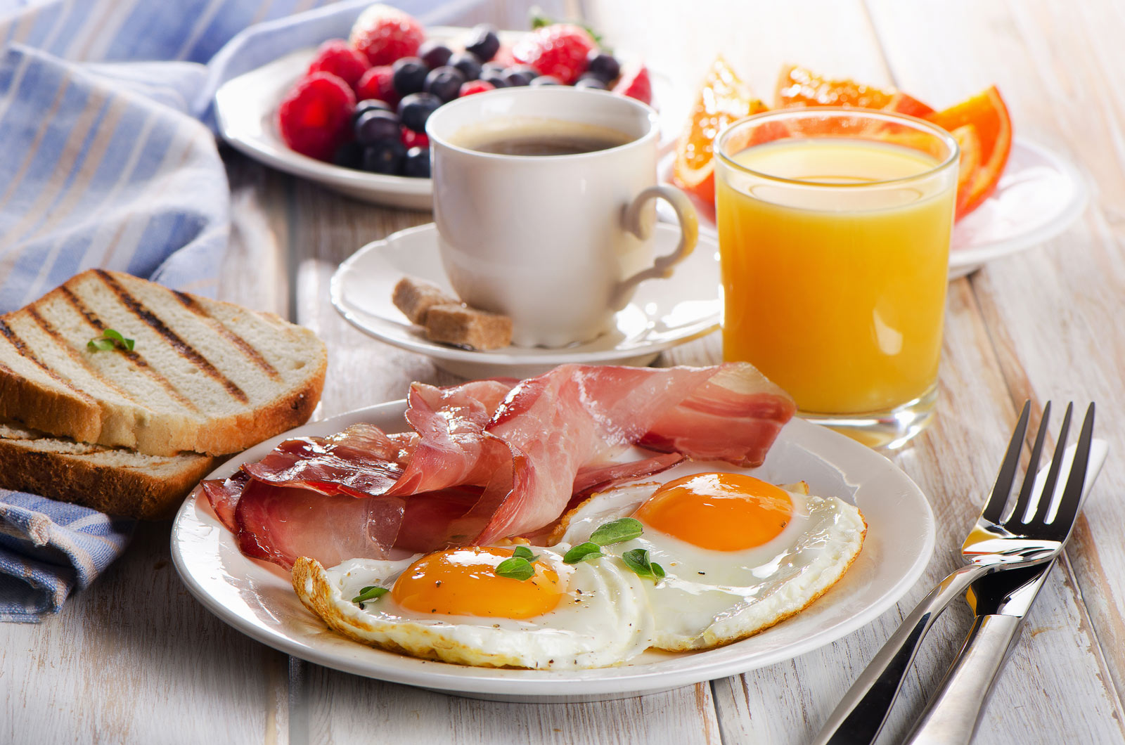 FANCY A FREE BREAKFAST? -