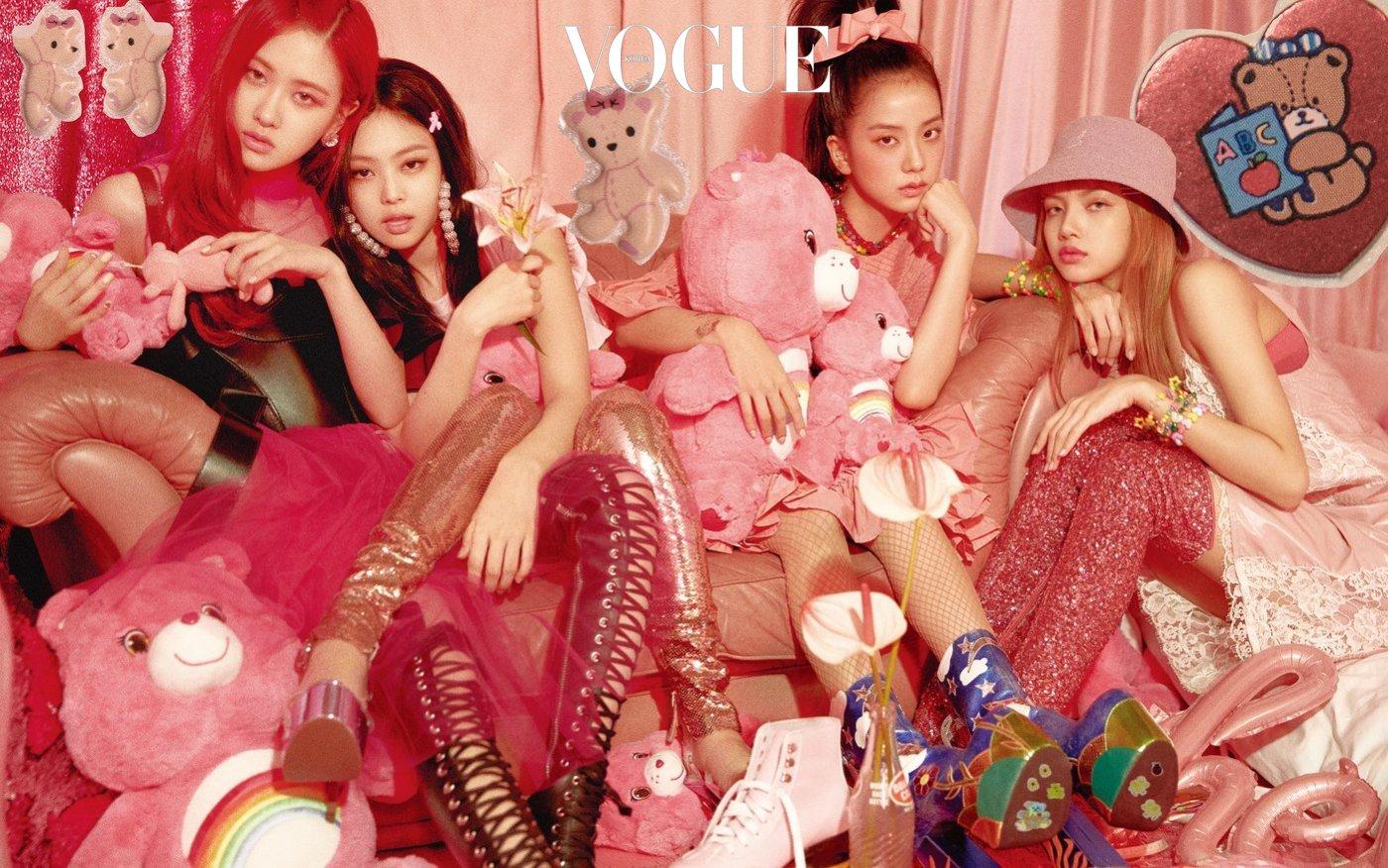 BLACKPINK for Vogue Korea, August 2018.