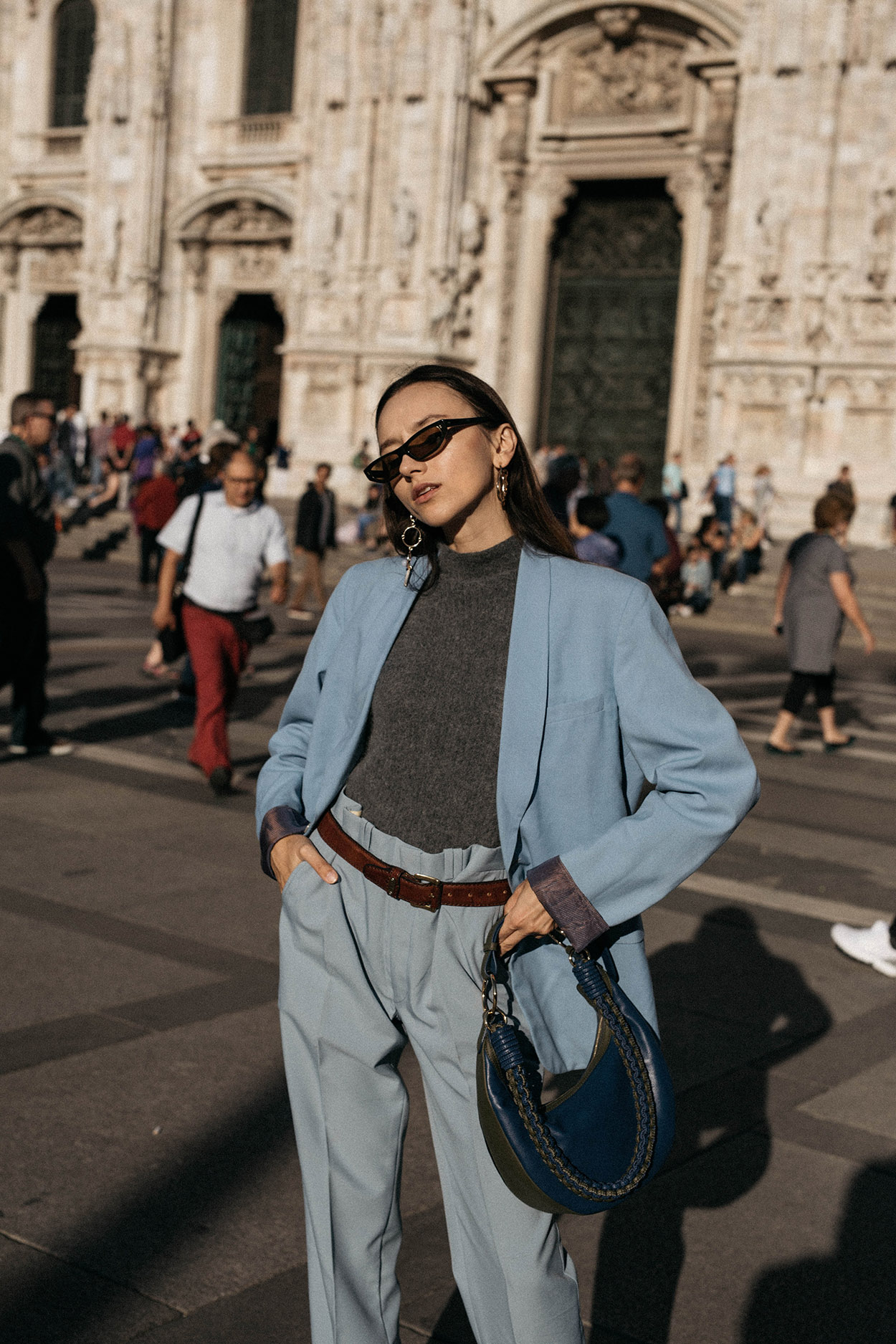 Blue-masculine-suit-trend-fall-winter-2017-balenciaga-matrix-sunglasses-milan-editorial-diane-von-furstenberg-mini-sling-hobo-bag-1.jpg