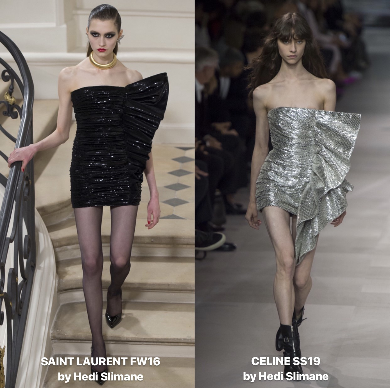 Images taken from the Vogue Runway App, all rights due to the respecutive owners