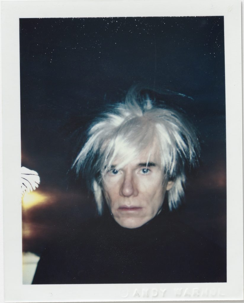 Self portrait in a fright wig - Andy Warhol, 1986