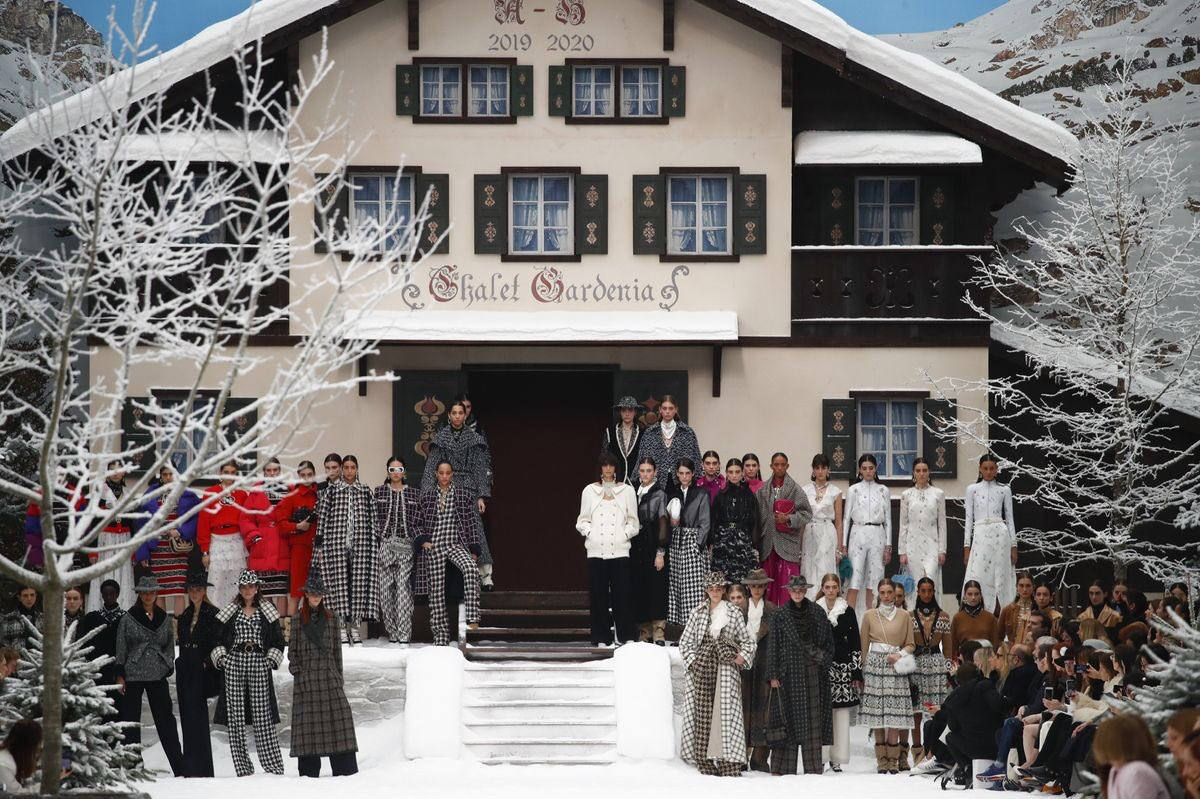 The Finale at Chanel FW19, Karl Lagerfeld's last show for Chanel