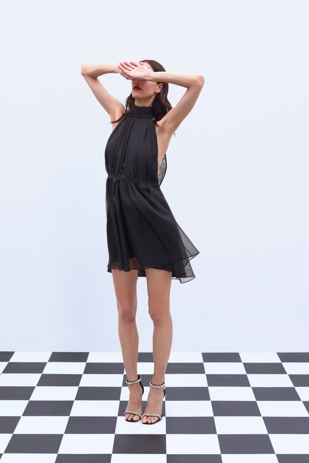 ORGANZA MINI DRESS - 69.99 GBP