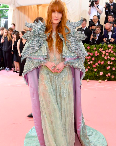 Florence Welch wearing Gucci.