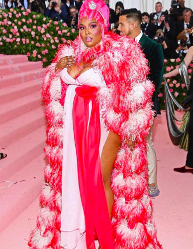 Lizzo wearing Marc Jacobs.