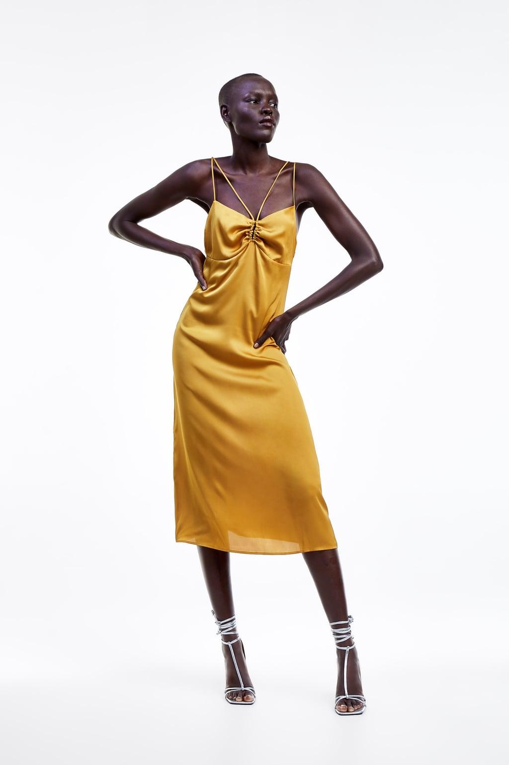 ZARA - Slip Dress With Straps25.99 GBP