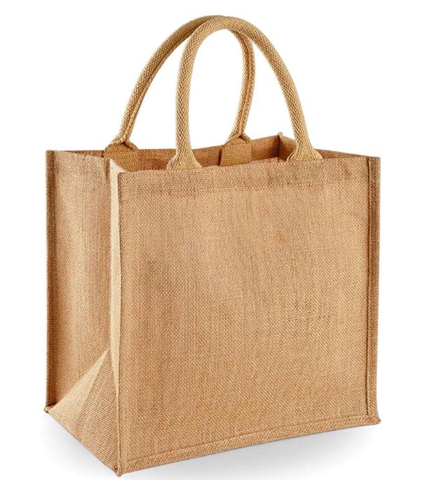 Westford Mill Jute Mini Tote Shopping Bag (14 Litres): £5.46