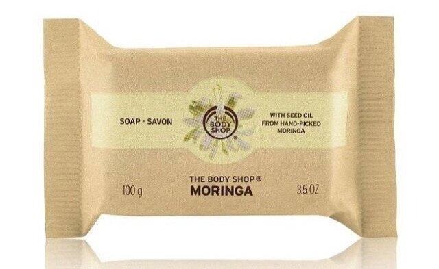 Moringa Soap, The Body Shop £2.50