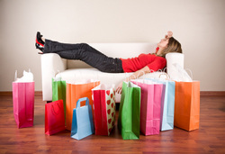 After a whirlwind day in Erie, you just may end up like the lady in the photo…spent and happy!!!