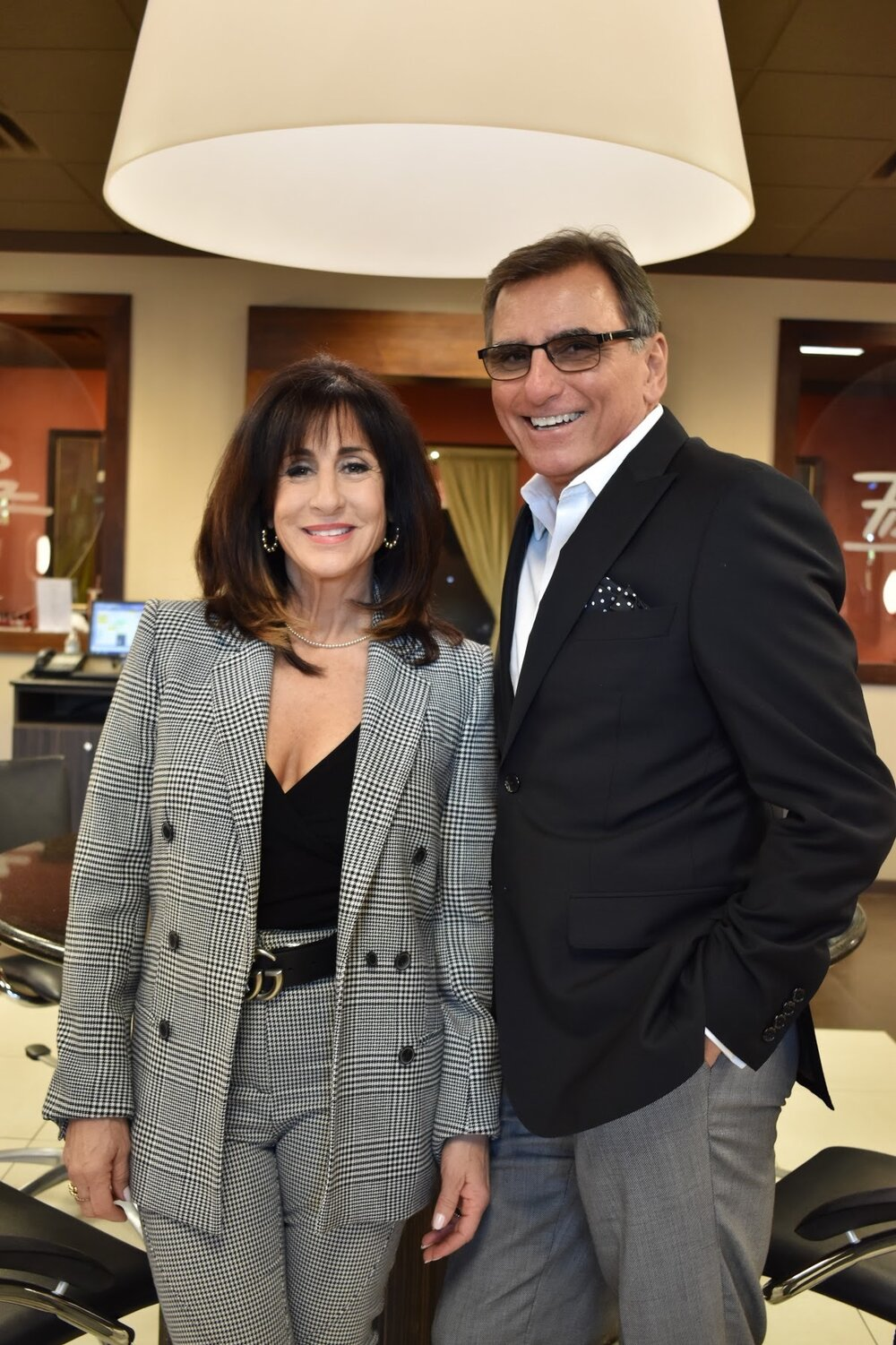 Kristina and Dennis Marquez, Owners of Pizzazz Hair Salon and Spa