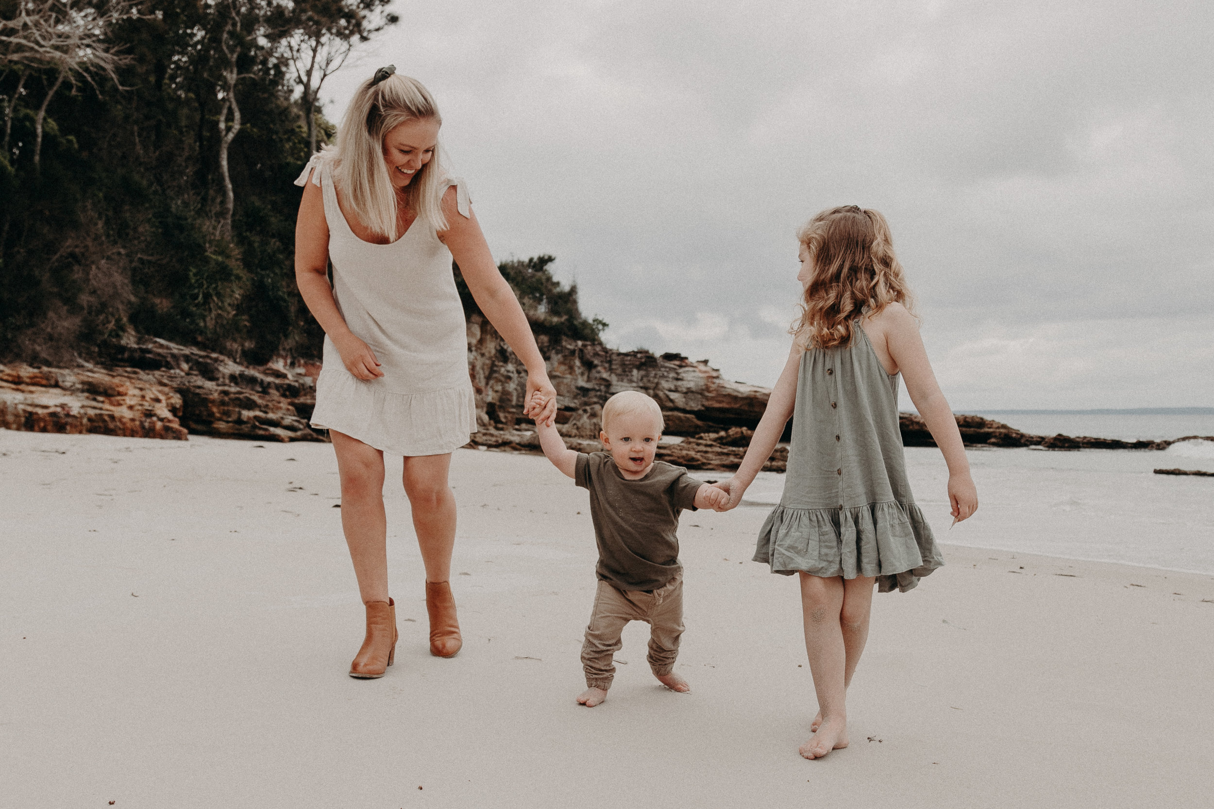 Chloe, Ruby + Cooper - Mummy + Me Photo Session | Vincentia, NSW