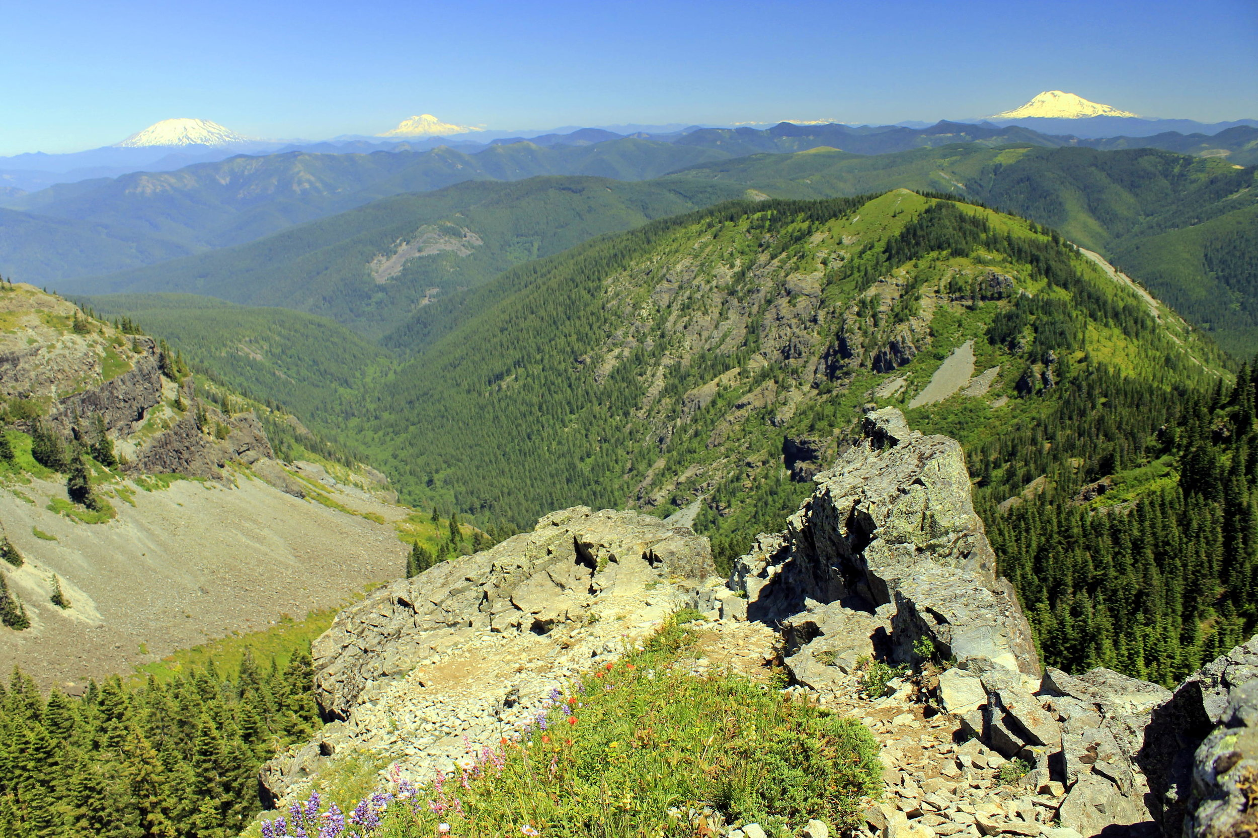 Hike 9: Silver Star Mountain via Starway