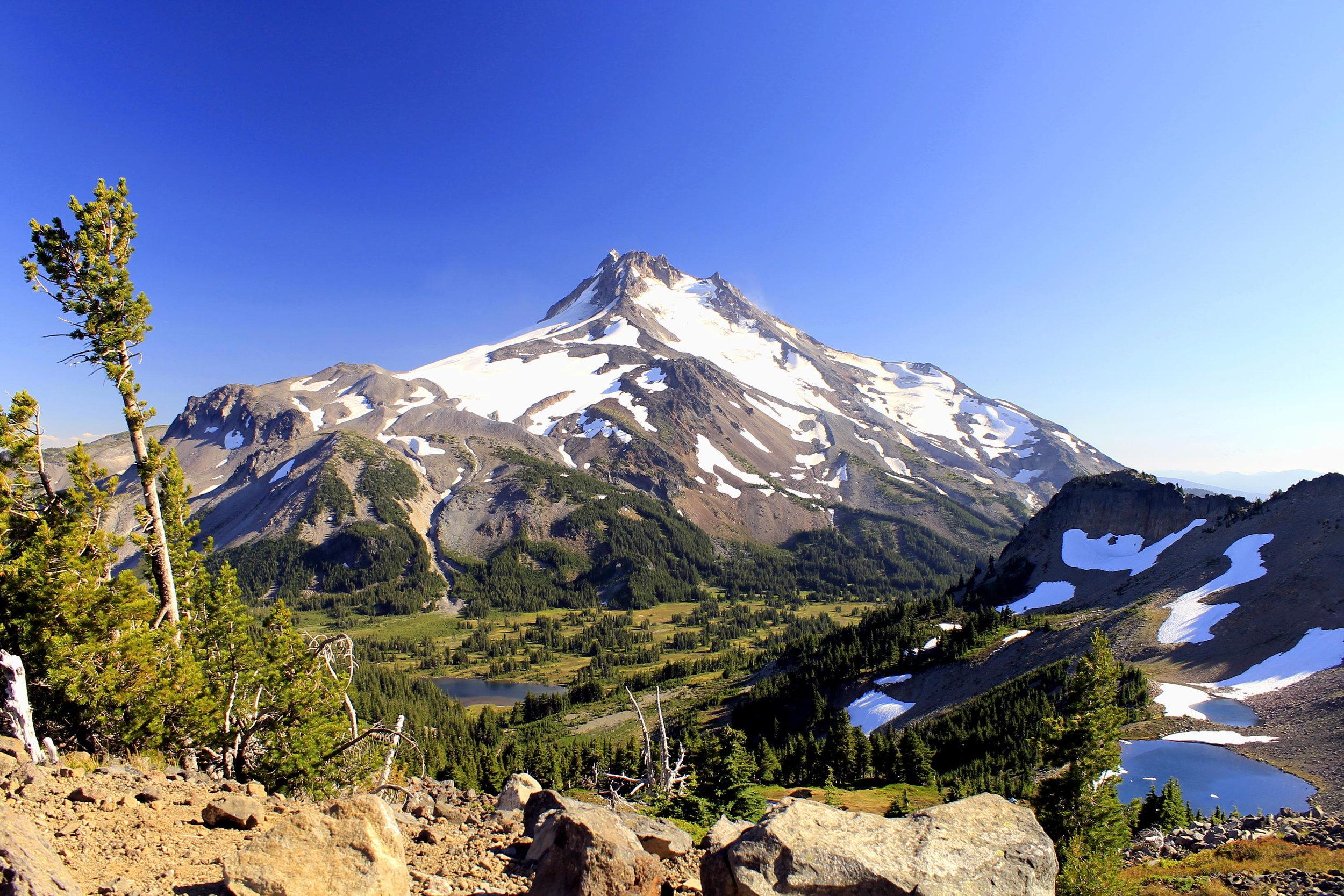 The viewpoint at Park Ridge.