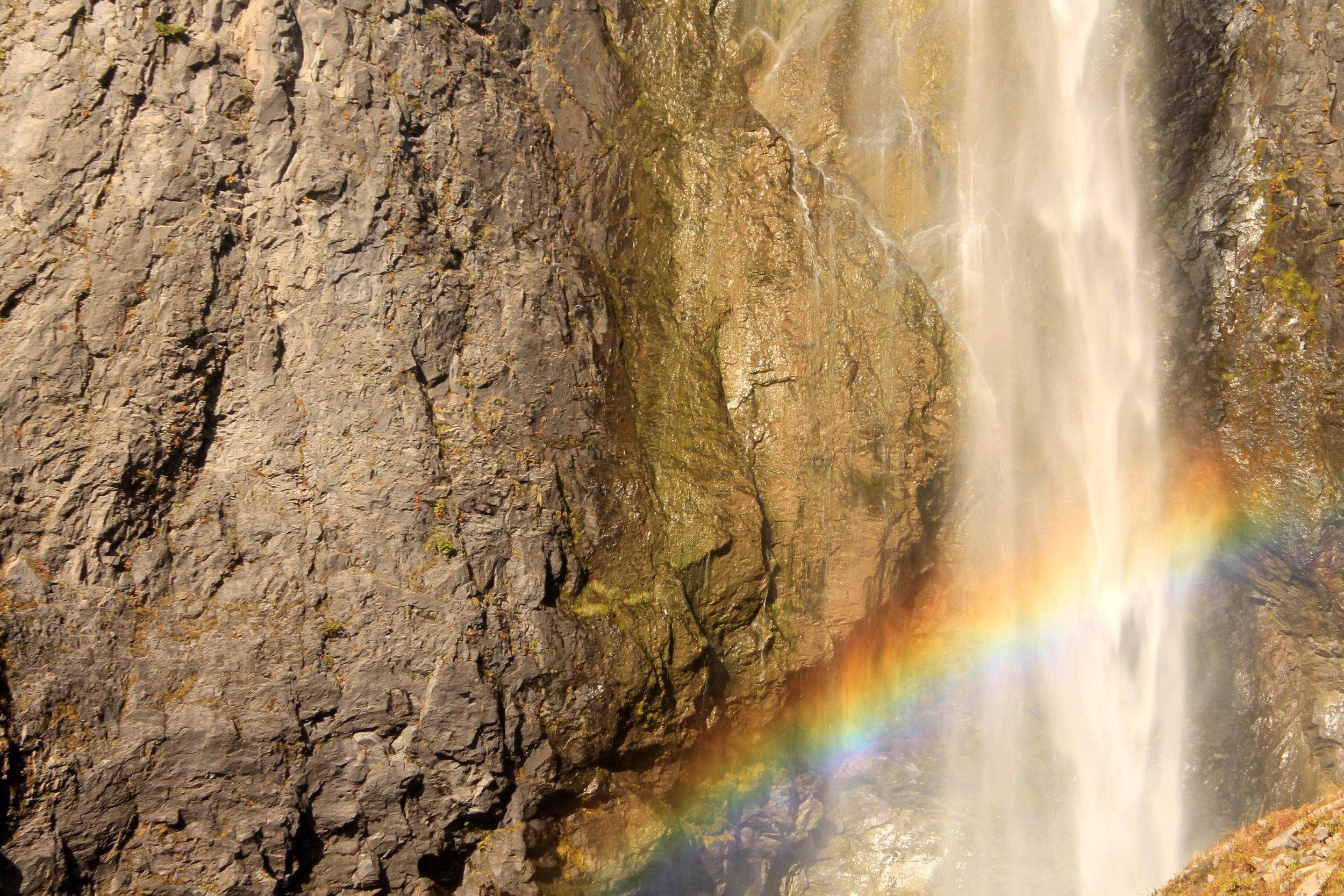 Comet Falls, Mount Rainier National Park