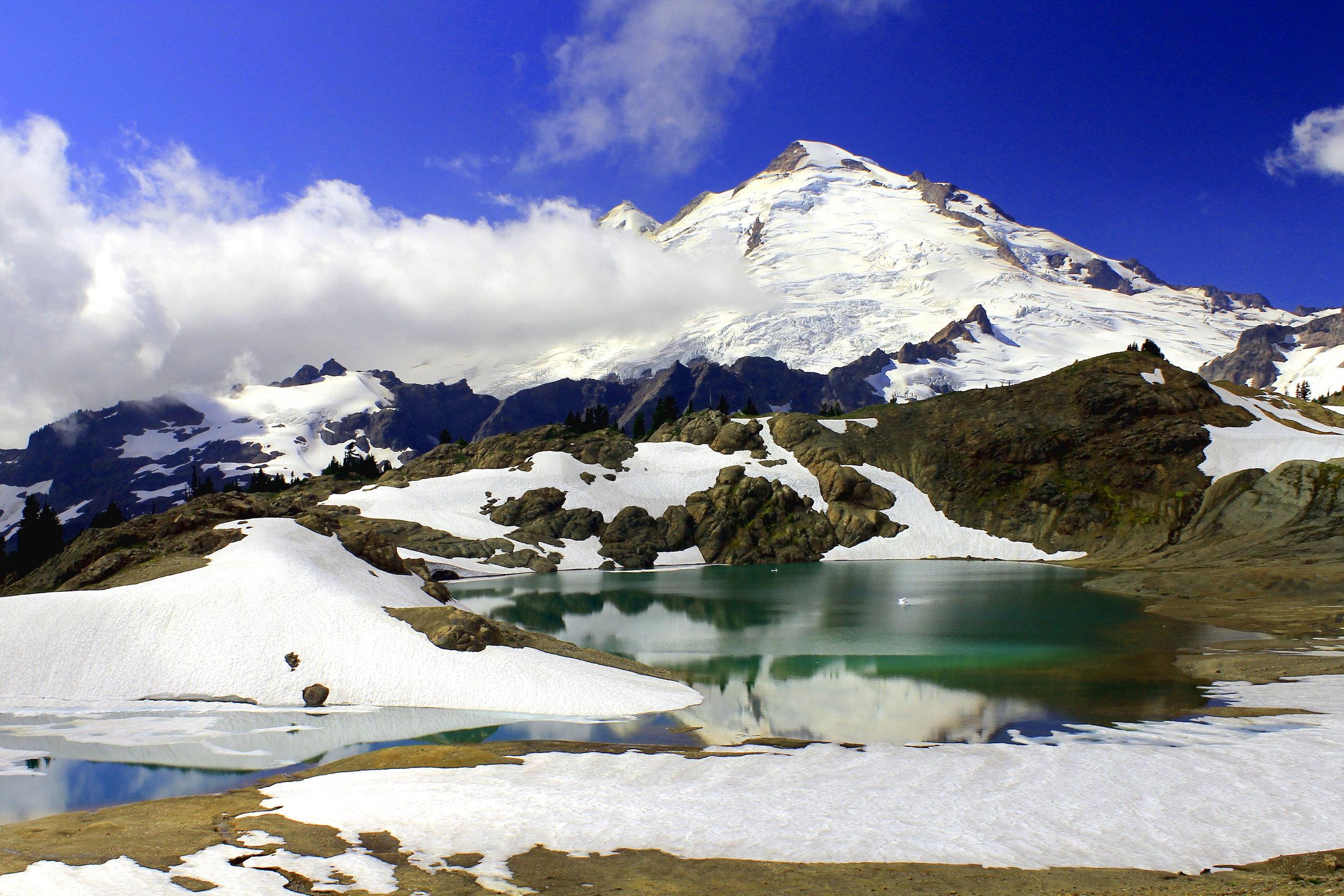 Mount Baker and Thirteen Goats Lake, Mount Baker Wilderness