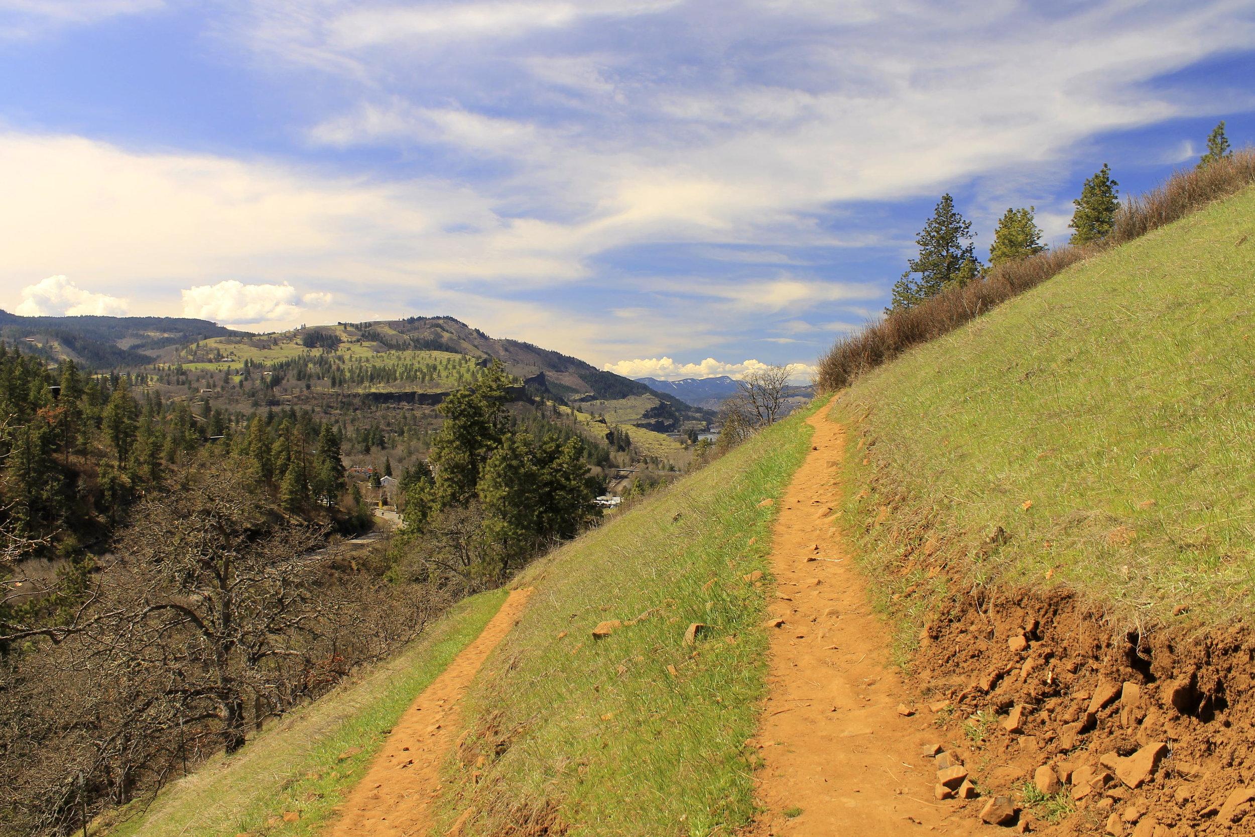 Mosier Plateau on March 31