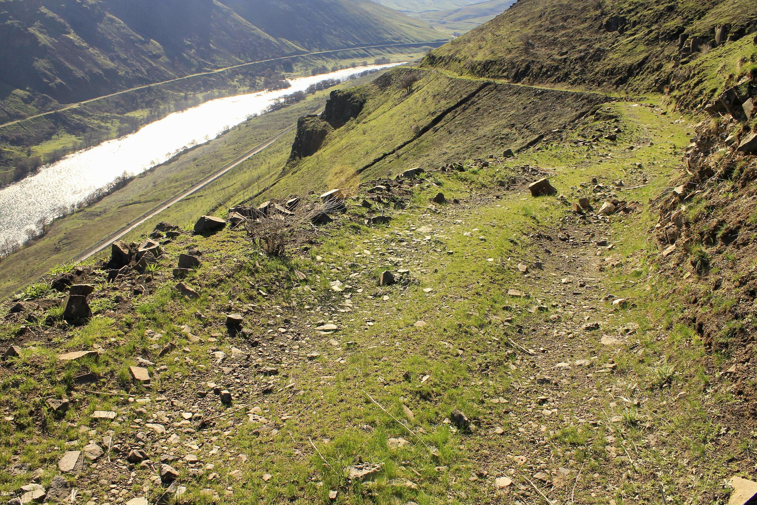 Free Bridge Road and the Deschutes River