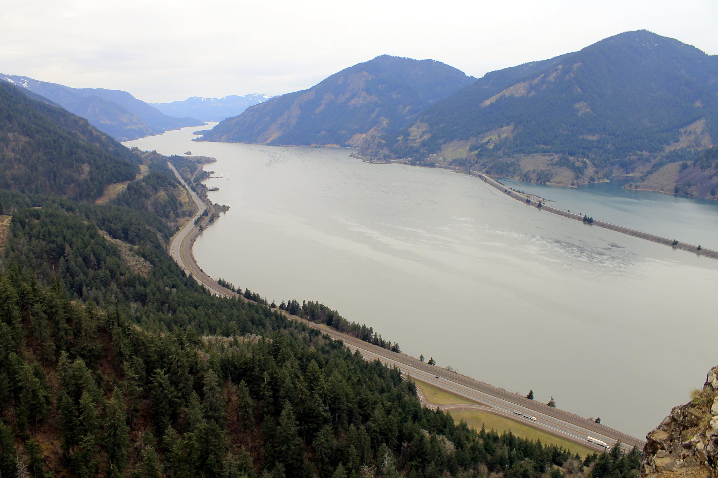 Mitchell Point and the Columbia River