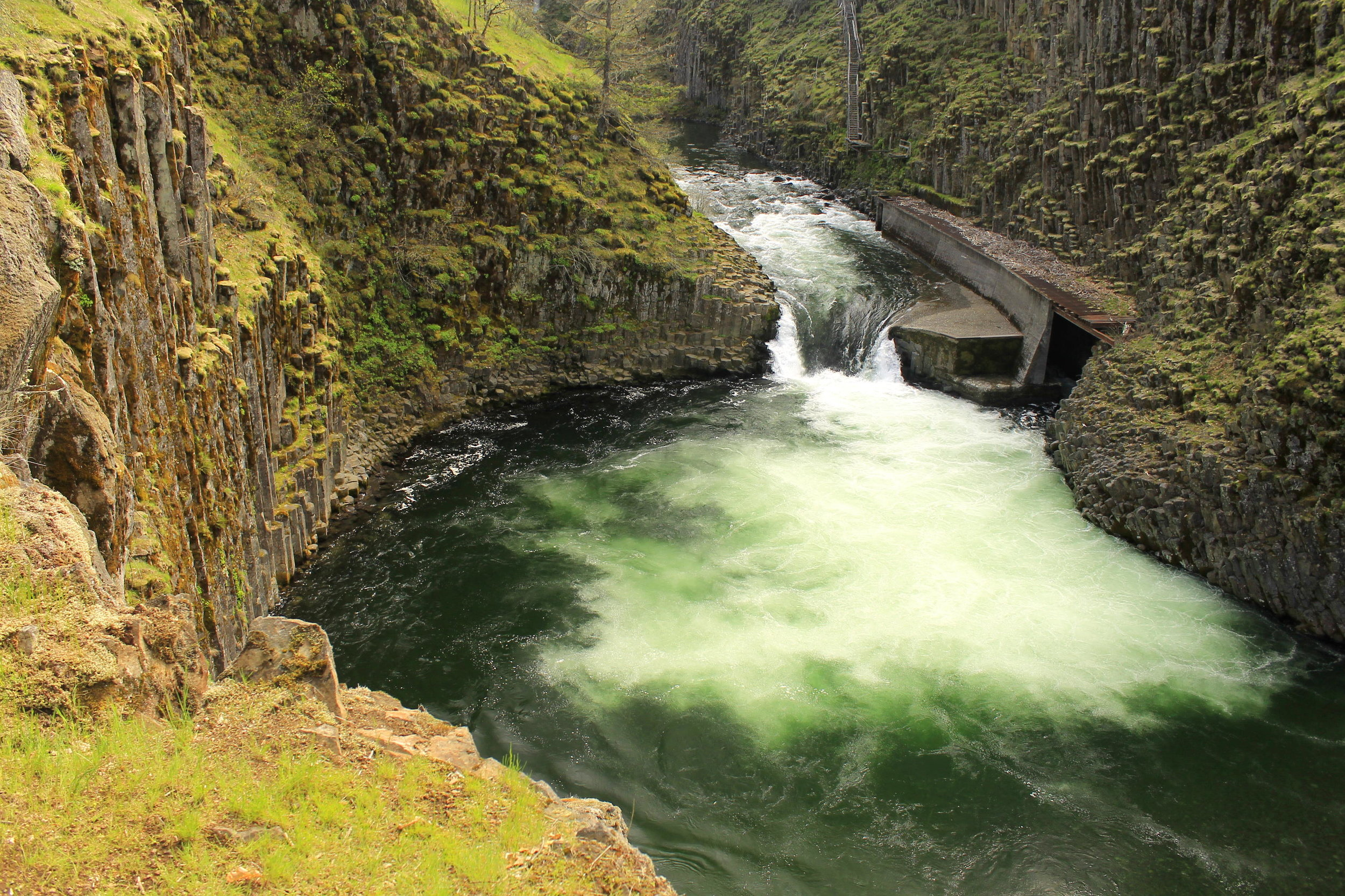 Punchbowl Falls, not to be confused with...