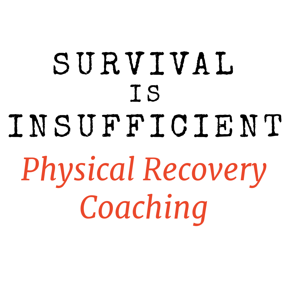 PHYSICAL RECOVERY COACHING - What is it?Breast cancer specific range-of-motion and strengthening exercises. Separate progressions for those at risk of lymphedema. Designed to be done at home with minimal equipment.What it's NOT- a weight-loss centric, before and after type program- technical or difficult – no previous exercise experience is neededHow does it work?This is a self-lead exercise course. Each week you will receive 3 workouts, each lasting around 20 minutes. Most have videos you can follow along with. All have printable versions so you can take notes for tracking progress or use instead of the videos (including all walking routines).