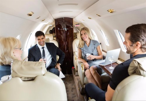 Office Space - Turn your aircraft cabin into a corner office with a technology overhaul. Install Airborne Broadband Wi-Fi to hold meetings and stay informed while in transit. Host videoconferences, place phone calls, download files and check email so you can get to your destination without missing a beat.
