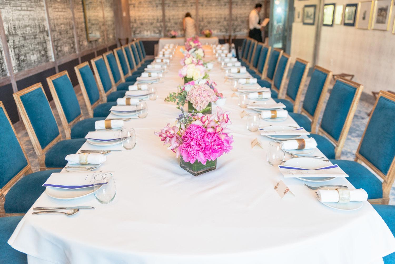 Private Dining — La Table
