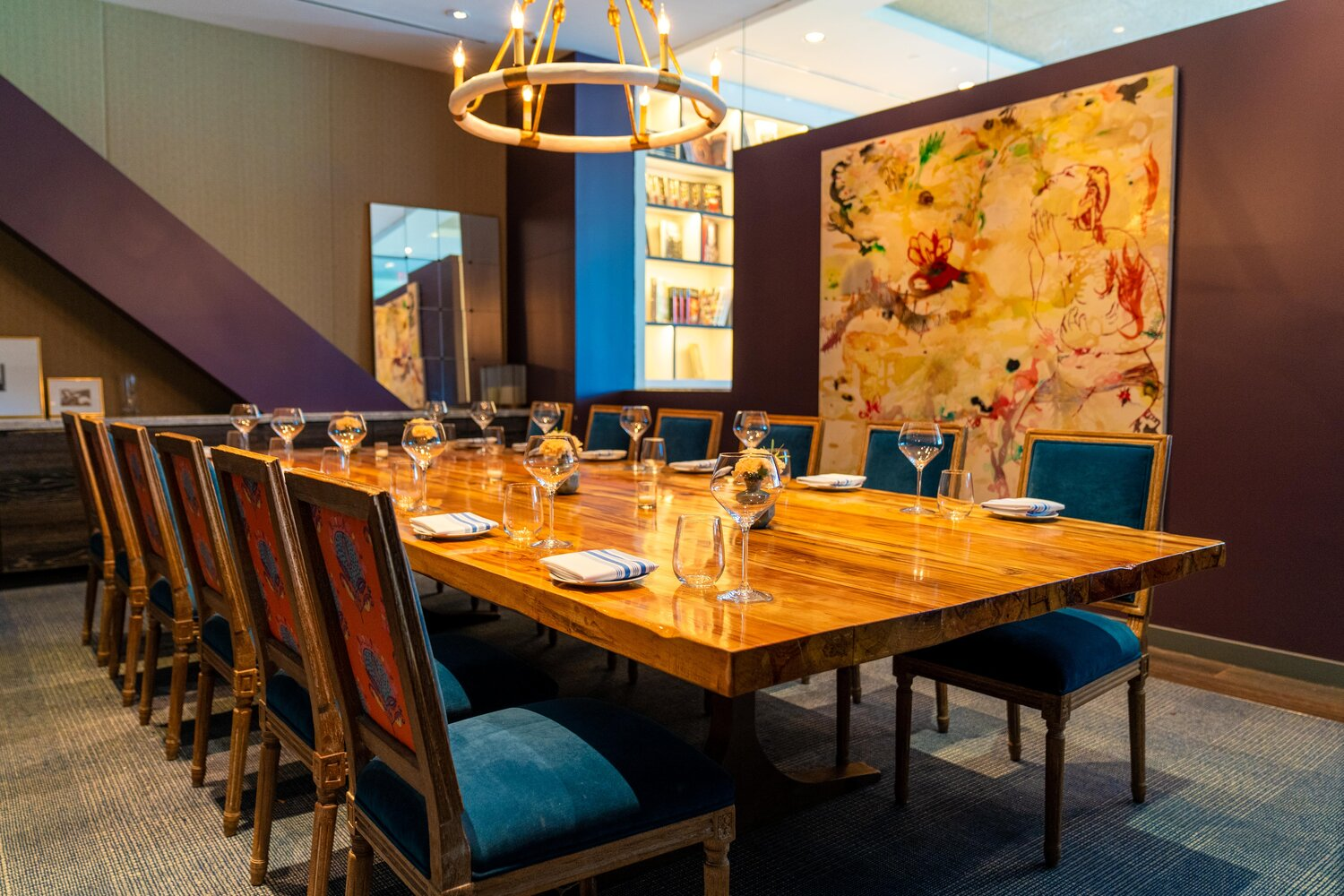 Private Dining La Table Post Oak, Downtown Houston Restaurants With Private Dining Rooms