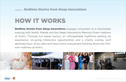 0969a65d6bc Experiential Event at Kohl's: Sleep Innovations Mattress Launch