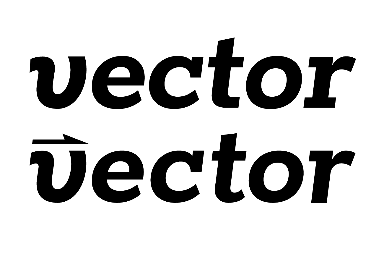 The logo before and after tweaking. Notably the 't' and 'r' underwent major changes, but every letter received some form of special attention.