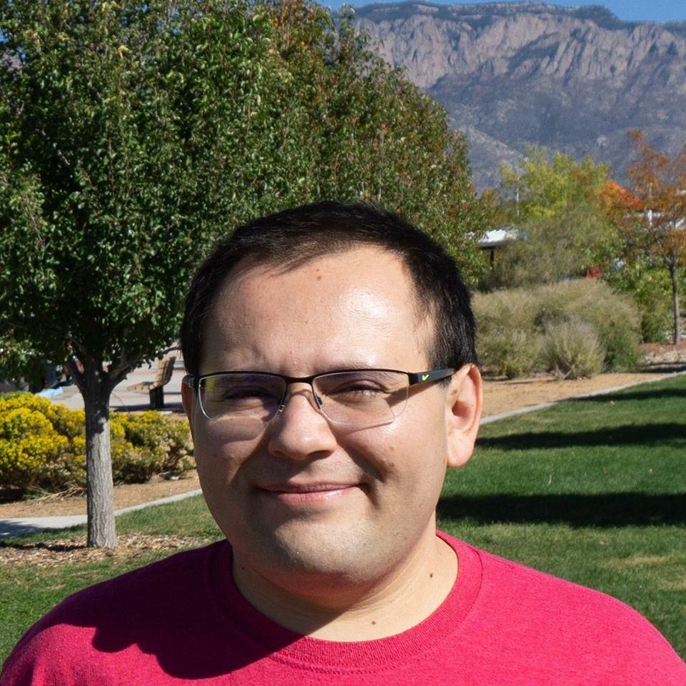 Ben Archuleta - North Domingo Baca Park - Sandia Mountains in the background.
