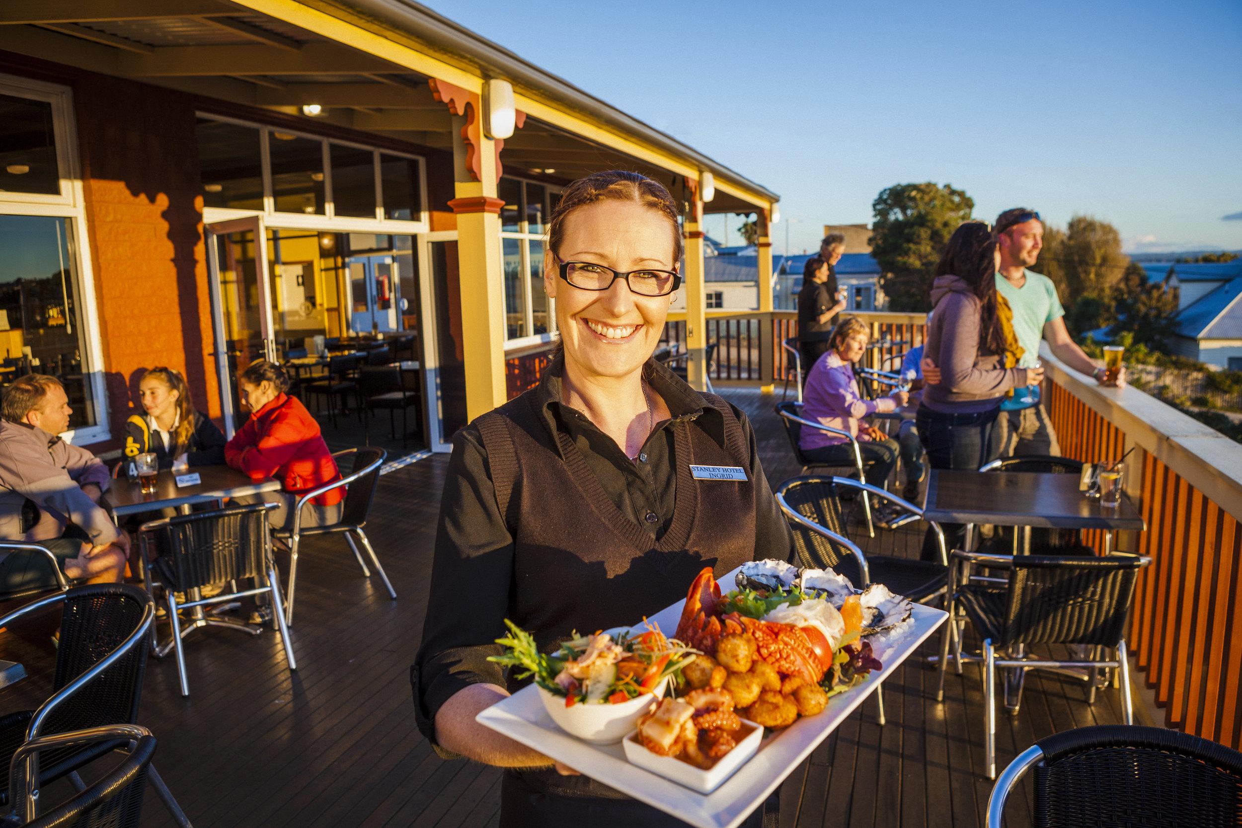 Stanley Hotel and Apartments- Restaurants in Stanley Tasmania